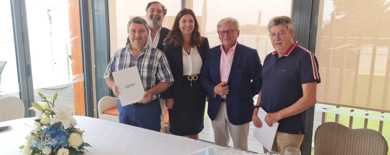 Assinatura parceria entre a URIPSS Algarve e a Winds