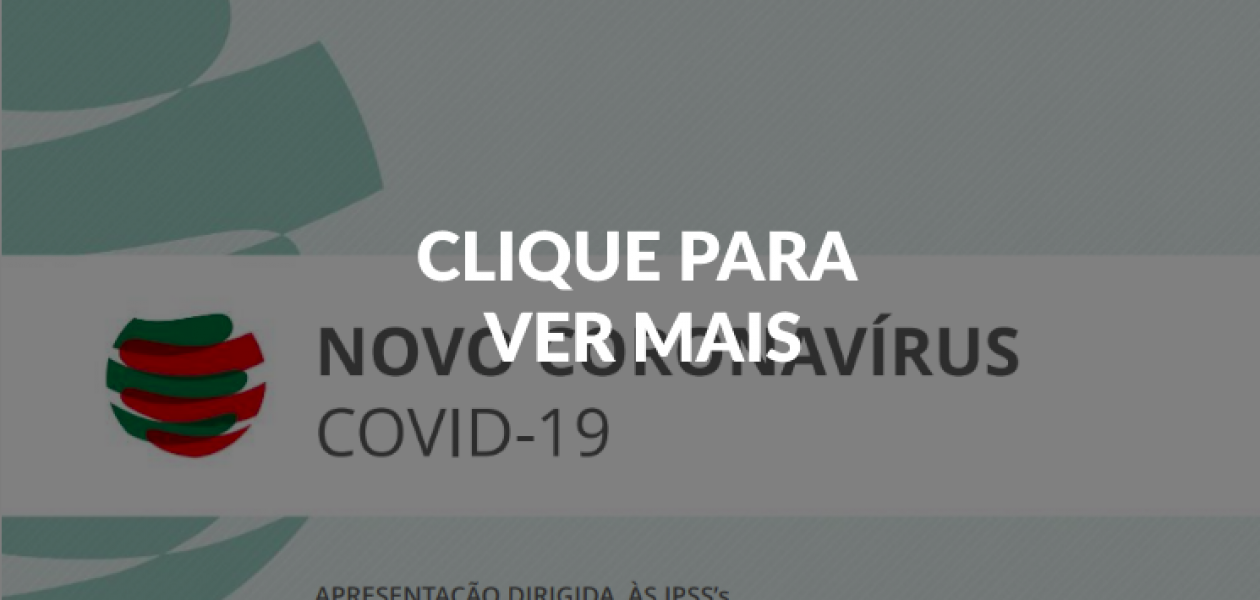 RECOMENDAÇÃO  IPSS – Covid-19