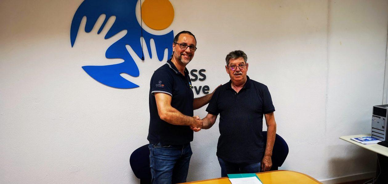 Assinatura parceria entre a URIPSS Algarve e a WebMax Soluções Online